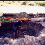 Extraindo o barro no Vale do Mulembá
